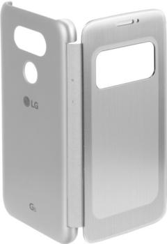 LG Handytasche Quick Circle Book-Cover CFV-160 für G5 titan