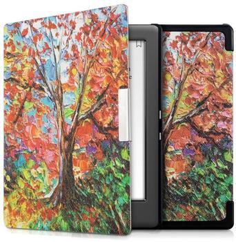 KW-Commerce kwmobile Flip Kunstlederhülle für Kobo Glo HD Touch 2.0 Baum Design, 34348.09