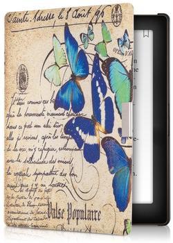 KW-Commerce kwmobile Flip Kunstlederhülle mit Schmetterlings Design für Kobo Aura 29416.01