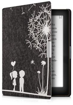 KW-Commerce kwmobile Flip Kunstlederhülle für Kobo Aura Pusteblume Love Design, 29416.06