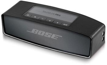 KW-Commerce kwmobile Kunstleder Schutzbox für Bose SoundLink Mini Schwarz