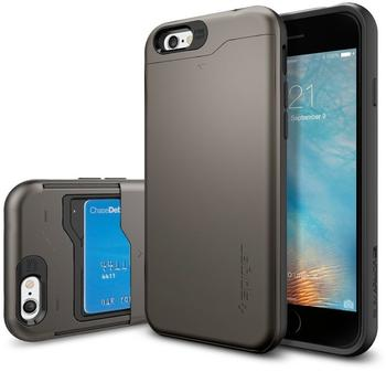 SPIGEN Slim Armor Case dunkelgrau für Apple iPhone 6