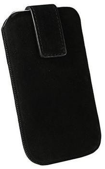 OZBO Tasche Nubuk XL schwarz 137x71x10mm (Obermaterial Echt Leder) (LTUNNUXL01)
