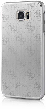 Guess 4G Metallic HardCover für Samsung Galaxy S7 silber