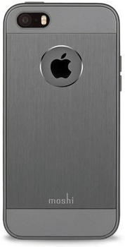 Moshi iGlaze Armour Case (iPhone SE/5/5s) grau