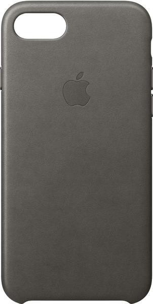 Apple iPhone Case Leder iPhone 7 sturmgrau