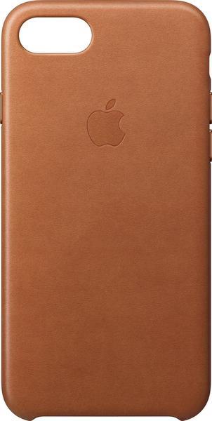 Apple iPhone Case Leder iPhone 7 sattelbraun