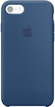 Apple Silikon Case (iPhone 7) ozeanblau