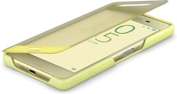 Sony Smart Style Cover Touch SCR50 (Xperia X) lime gold