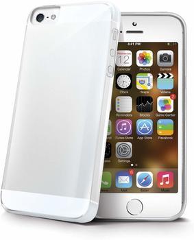 CELLY Weiches SilikonCover für das iPhone 7 Plus Gelskin Cover weiß