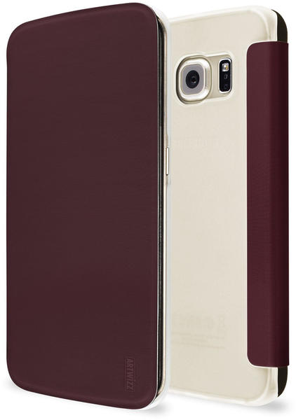 Artwizz SmartJacket marsala (Galaxy S6 edge)