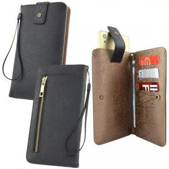 Fontastic Universal Tasche Diary Lift Tiran 3XL, schwarz