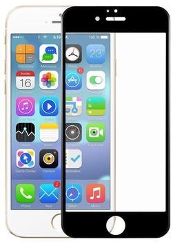König-Shop Apple iPhone 6 Plus6s Plus 3D Panzer Glas Folie Display Schutzfolie Hüllen Case Schwarz