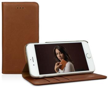 CASEual Leather Wallet iPhone 7 Italian Brown
