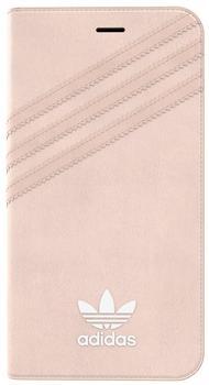 adidas Originals Rundum-Schutz für iPhone 7 Plus Booklet Case rosa