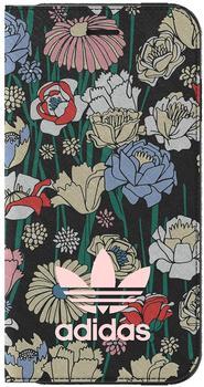 adidas Bohemian Tasche Book Cover Apple iPhone 7 Hülle Handytasche Bunt