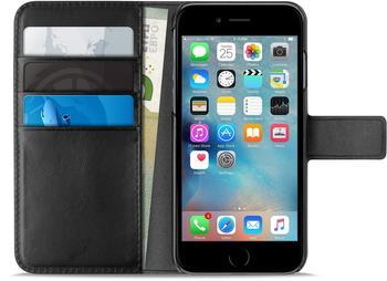 PURO Booklet Case - Wallet, Schutzhülle, schwarz,