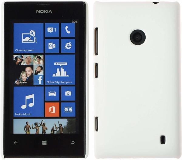 PhoneNatic Nokia Lumia 520 gummiert Hard-case für Lumia 520 + 2 Schutzfolien