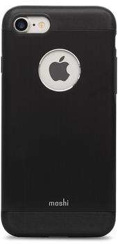 Moshi iGlaze Armour Case (iPhone 7) onyx schwarz