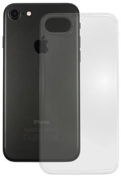 PEDEA Soft TPU Case (glatt) für Apple iPhone 7, transparent