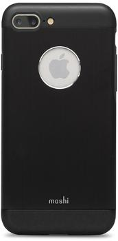 Moshi iGlaze Armour Case (iPhone 7 Plus) onyx schwarz