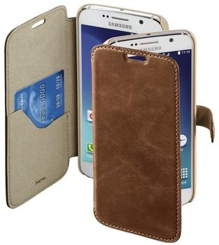Hama Prime Line Bookcover Galaxy S6 Country-Braun