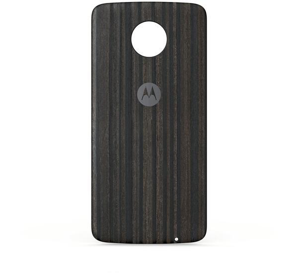 Motorola Moto Mods Style Shell (Moto Z) charcoal ash wood