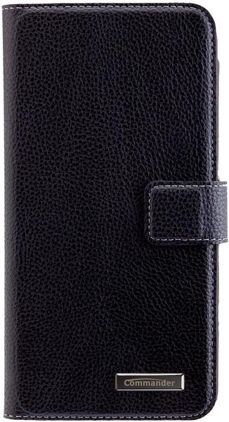 Peter Jäckel COMMANDER BOOK CASE ELITE iPhone 7 Plus black
