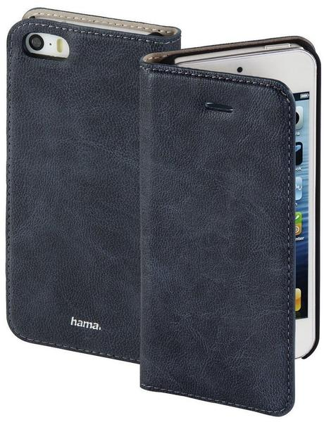 Hama Guard Bookcover iPhone 5 iPhone 5s iPhone SE Blau