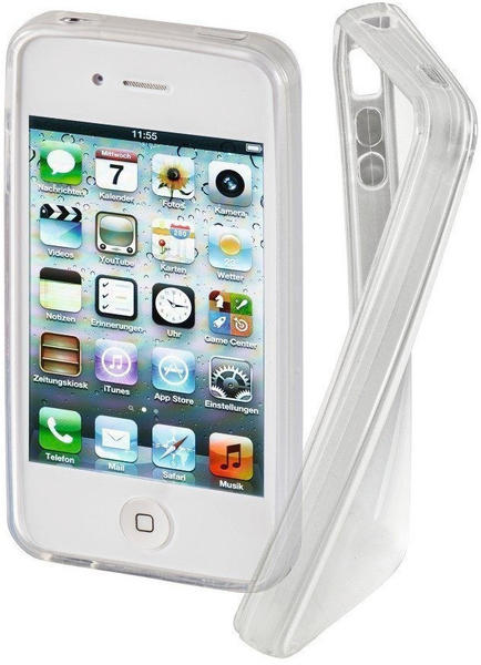 Hama Crystal Backcover iPhone 4 iPhone 4s Transparent
