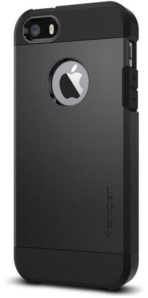 Spigen Case Tough Armor (iPhone SE/5S/5) schwarz