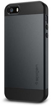 Spigen Slim Armor Case (iPhone SE/5s/5) metal slate