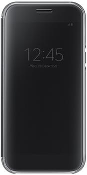 Samsung Clear View Cover (Galaxy A5 2017) schwarz