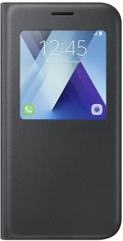 Samsung S View Standing Cover (Galaxy A5 2017) schwarz