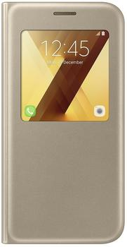 Samsung S View Standing Cover (Galaxy A5 2017) gold