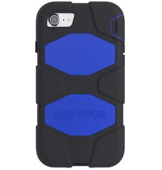 Griffin Survivor All-Terrain, Schutzhülle blau, iPhone 7