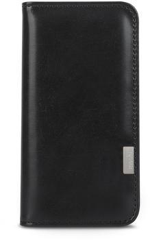 Moshi Overture Wallet - Flip-Hülle für Mobiltelefon - Polycarbonat, Kunstleder - Charc