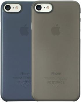 Ozaki O!coat 0.3 Jelly Slim 2in1 (iPhone 7/8) schwarz/blau