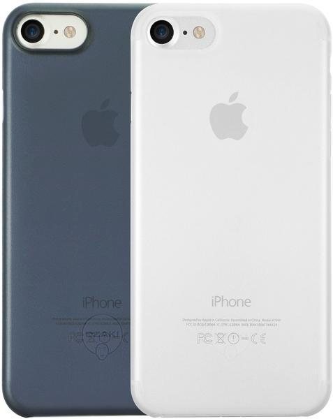 Ozaki Ozaki OC720CD, Backcover, iPhone 7 Blau/Transparent