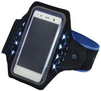 Hama Active mit LEDs Größe L blau