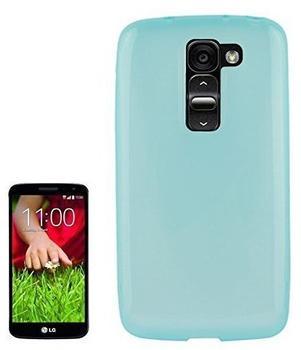 König-Shop Schutzhülle für Handy LG Optimus G2D802 BlauTürkis