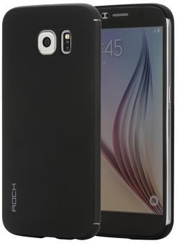 Rock Buchdesign-Tasche DR.V Serie für Samsung Galaxy S6 schwarz