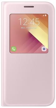 Samsung S View Standing Cover (Galaxy A5 2017) pink