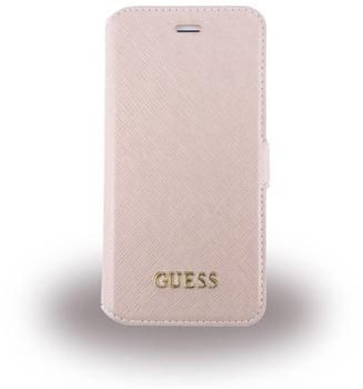 GUESS - Saffiano GUFLBKP7LTRO - Book CoverApple iPhone 7 Plus Pink