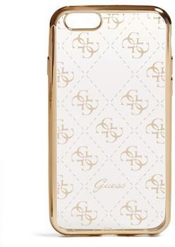 Guess 4G TPU Schutzhülle für Apple iPhone 7 Gold