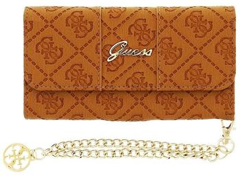GUESS Clutch Wallet Case Scarlett Braun für Apple iPhone 6/6S
