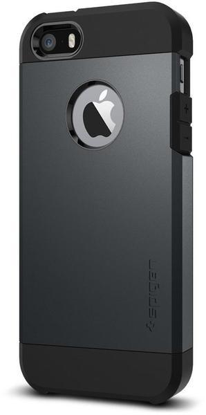 Spigen Case Tough Armor (iPhone SE/5S/5) metal slate