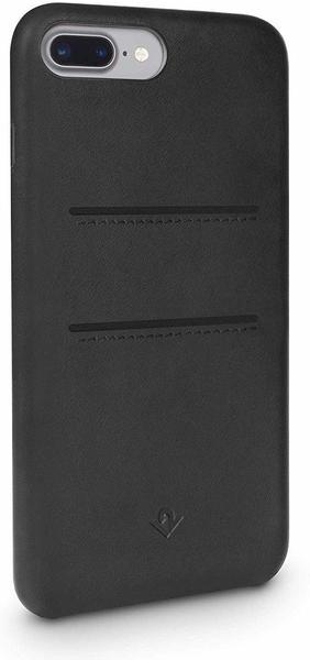Twelve South Relaxed Leather Clip mit Taschen (iPhone 7 Plus/ 8 Plus) schwarz