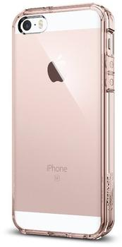Spigen Case Ultra Hybrid (iPhone SE/5S/5) Rose Crystal