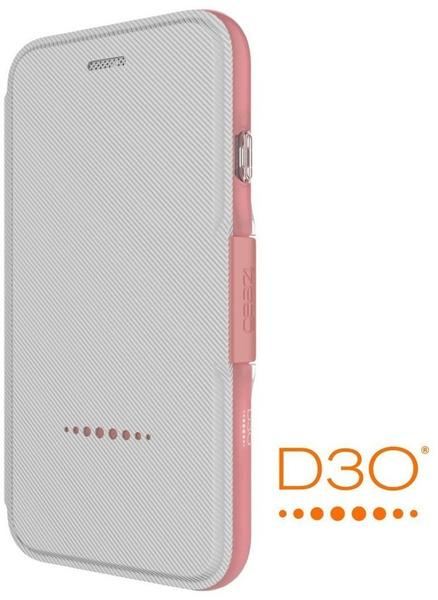 Gear4 Bookcase Oxford (iPhone 7/8) rosa gold